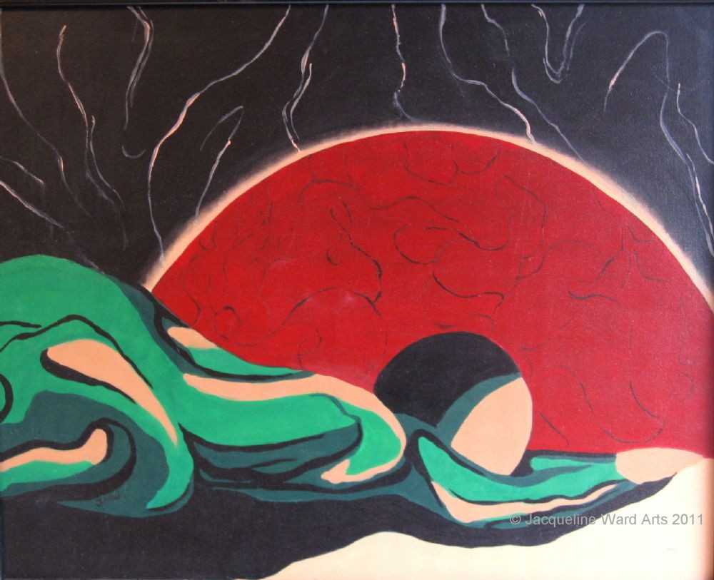 The Supplication 30x24 Acrylic